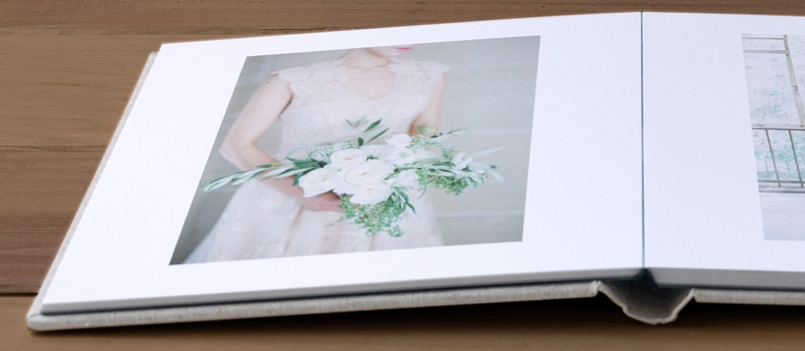 Professional quality print service photo books printed on high quality photo paper