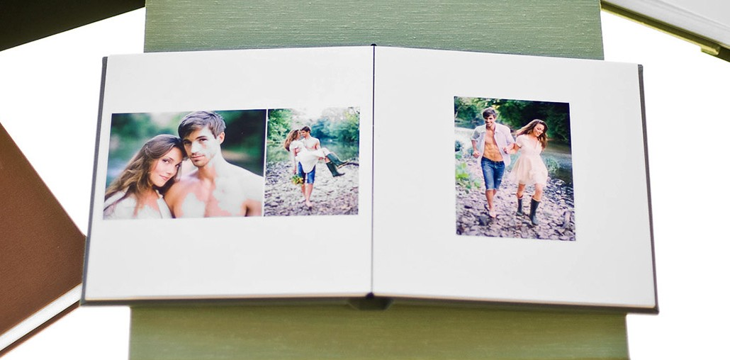 A Professional quality photo print album