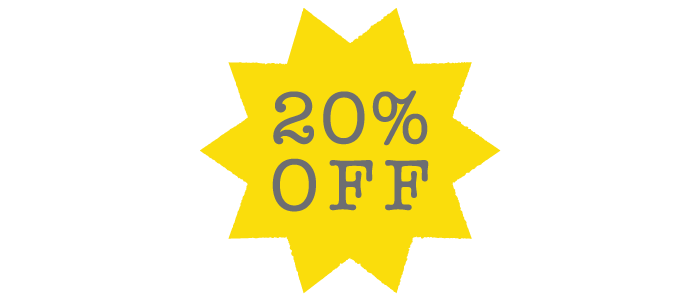 20% Off Graphic