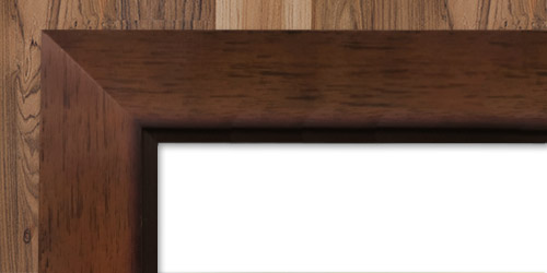 Frame Option - Mahogany